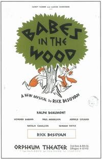 Babes In the Wood (Broadway) - 11 x 17 Poster - Style A