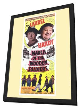 Babes in Toyland - 11 x 17 Movie Poster - Style B - in Deluxe Wood Frame