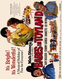 Babes in Toyland - 22 x 28 Movie Poster - Half Sheet Style A