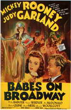Babes on Broadway - 11 x 17 Movie Poster - Style B