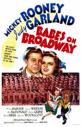 Babes on Broadway - 11 x 17 Movie Poster - Style A
