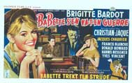 Babette Goes To War - 14 x 22 Movie Poster - Belgian Style A