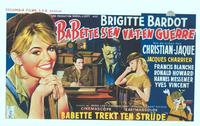 Babette Goes To War - 11 x 17 Movie Poster - Belgian Style A