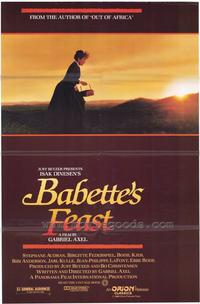 Babette's Feast - 43 x 62 Movie Poster - Bus Shelter Style A