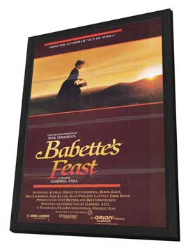 Babette's Feast - 11 x 17 Movie Poster - Style A - in Deluxe Wood Frame