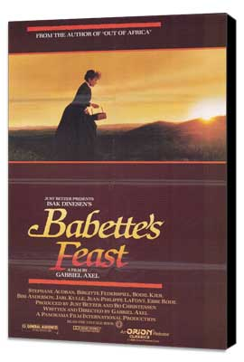 Babette's Feast - 11 x 17 Movie Poster - Style A - Museum Wrapped Canvas