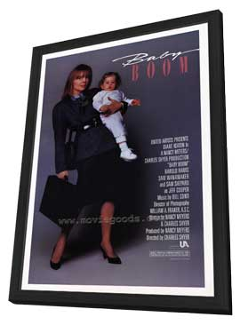 Baby Boom - 27 x 40 Movie Poster - Style A - in Deluxe Wood Frame