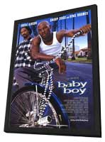 Baby Boy - 11 x 17 Movie Poster - Style A - in Deluxe Wood Frame