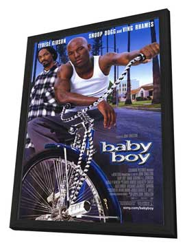 Baby Boy - 27 x 40 Movie Poster - Style A - in Deluxe Wood Frame