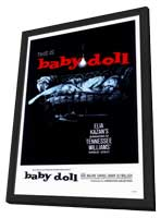 Baby Doll - 11 x 17 Movie Poster - Style A - in Deluxe Wood Frame