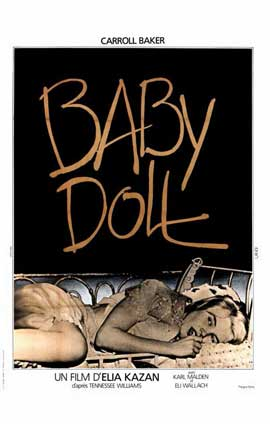 Baby Doll - 11 x 17 Movie Poster - French Style A