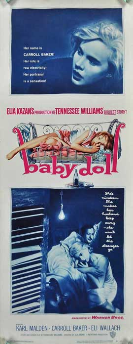 Baby Doll - 14 x 36 Movie Poster - Insert Style A