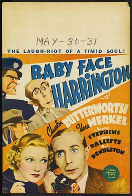 Baby Face Harrington - 27 x 40 Movie Poster - Style A