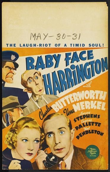 Baby Face Harrington movie