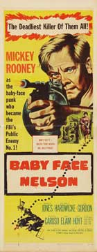 Baby Face Nelson - 14 x 36 Movie Poster - Insert Style A