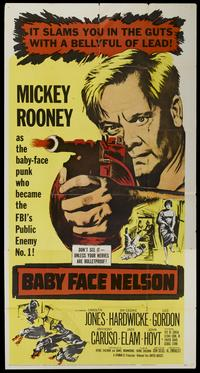 Baby Face Nelson - 11 x 17 Movie Poster - Style B