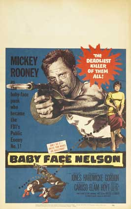 Baby Face Nelson - 11 x 17 Movie Poster - Style C
