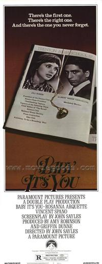 Baby It's You - 14 x 36 Movie Poster - Insert Style A