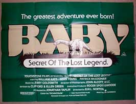 Baby: Secret of the Lost Legend - 11 x 17 Movie Poster - UK Style A
