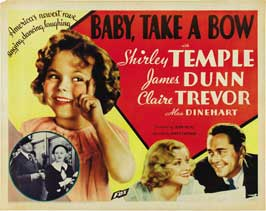 Baby, Take a Bow - 22 x 28 Movie Poster - Half Sheet Style A
