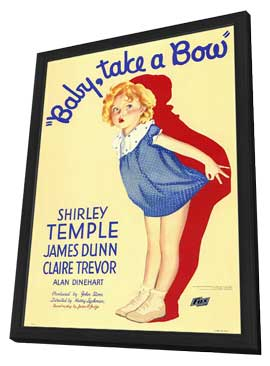 Baby, Take a Bow - 11 x 17 Movie Poster - Style A - in Deluxe Wood Frame