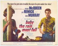 Baby, the Rain Must Fall - 11 x 14 Movie Poster - Style A
