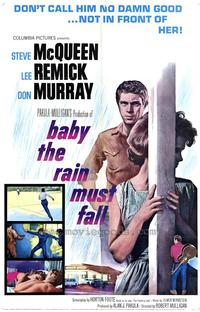 Baby, the Rain Must Fall - 43 x 62 Movie Poster - Bus Shelter Style A