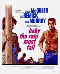 Baby, the Rain Must Fall - 11 x 17 Movie Poster - Style B