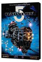 Babylon 5 - 22 x 28 Movie Poster - Half Sheet Style A - Museum Wrapped Canvas