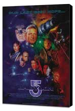 Babylon 5 - 27 x 40 Movie Poster - Style C - Museum Wrapped Canvas