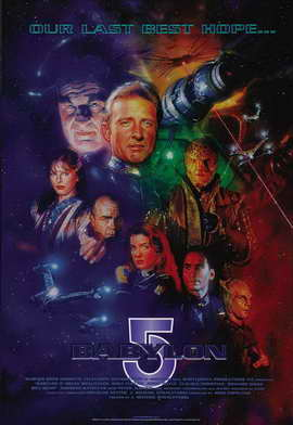 Babylon 5 - 11 x 17 Movie Poster - Style C