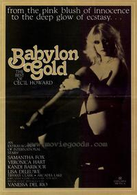 Babylon Gold - 43 x 62 Movie Poster - Bus Shelter Style A