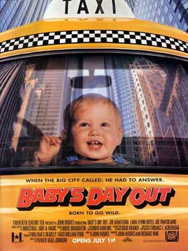 Baby's Day Out - 27 x 40 Movie Poster - Style B