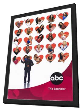 The Bachelor (TV) - 11 x 17 TV Poster - Style A - in Deluxe Wood Frame