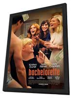 Bachelorette - 11 x 17 Movie Poster - Style A - in Deluxe Wood Frame