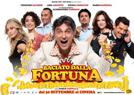 Baciato dalla fortuna - 11 x 17 Movie Poster - Italian Style A