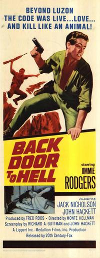 Back Door to Hell - 14 x 36 Movie Poster - Insert Style A