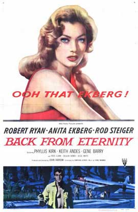 Back from Eternity - 11 x 17 Movie Poster - Style A