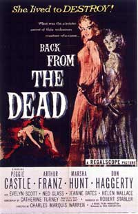 Back From the Dead - 11 x 17 Movie Poster - Style A