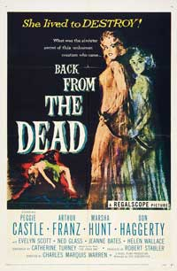 Back From the Dead - 27 x 40 Movie Poster - Style A
