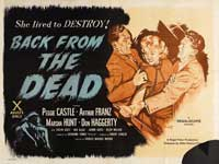 Back From the Dead - 30 x 40 Movie Poster - Style A