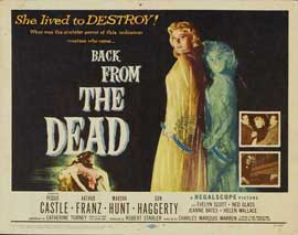 Back From the Dead - 11 x 14 Movie Poster - Style A
