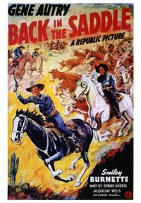 Back in the Saddle - 43 x 62 Movie Poster - Bus Shelter Style A