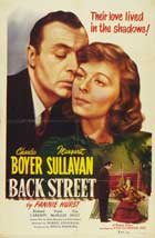 Back Street - 27 x 40 Movie Poster - Style A