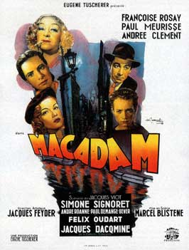 Back Streets of Paris - 11 x 17 Movie Poster - French Style A