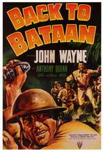 Back to Bataan - 27 x 40 Movie Poster - Style B