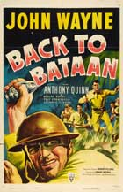 Back to Bataan - 27 x 40 Movie Poster - Style C