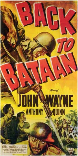 Back to Bataan - 11 x 17 Movie Poster - Style A
