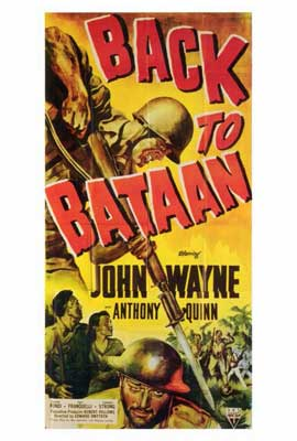 Back to Bataan - 27 x 40 Movie Poster - Style A