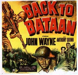 Back to Bataan - 11 x 14 Movie Poster - Style A